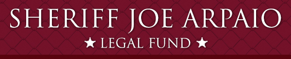 Sheriff Joe Arpaio Legal