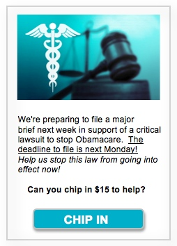 Stop Obamacare Now!