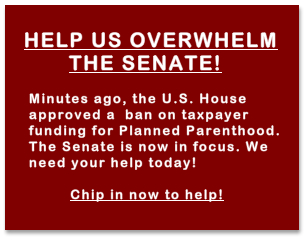 Help us overwhelm the Senate!