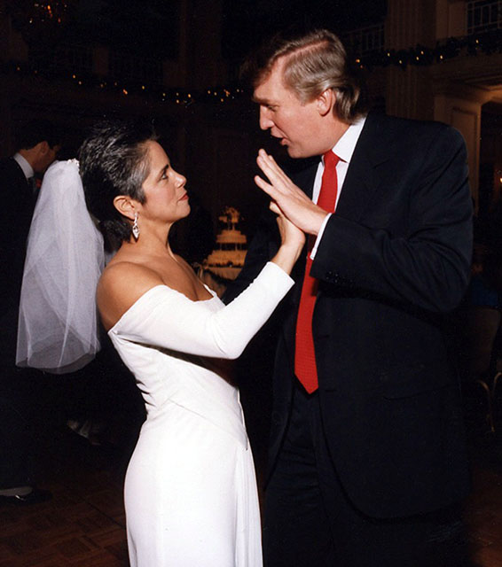 Nydia Stone and Donald Trump