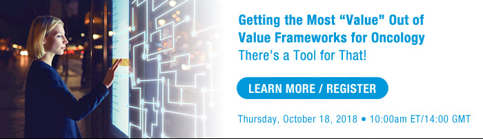 Getting the Most 'Value' Out of Value Frameworks for Oncology: There's a Tool for That!