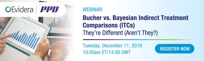 Bucher vs. Bayesian Indirect Treatment Comparisons (ITCs) - They're Different (Aren't They?)