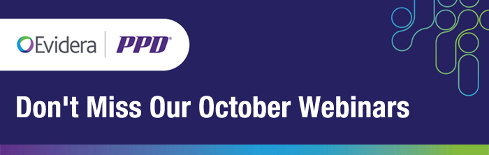 Don't Miss Our October Webinars