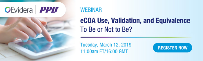 eCOA Use, Validation, and Equivalence: To Be or Not to Be?
