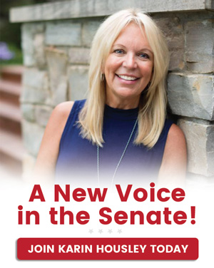 A New Voice in the Senate! Join Karin Housley Today