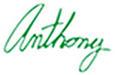 Anthony Bellotti Signature